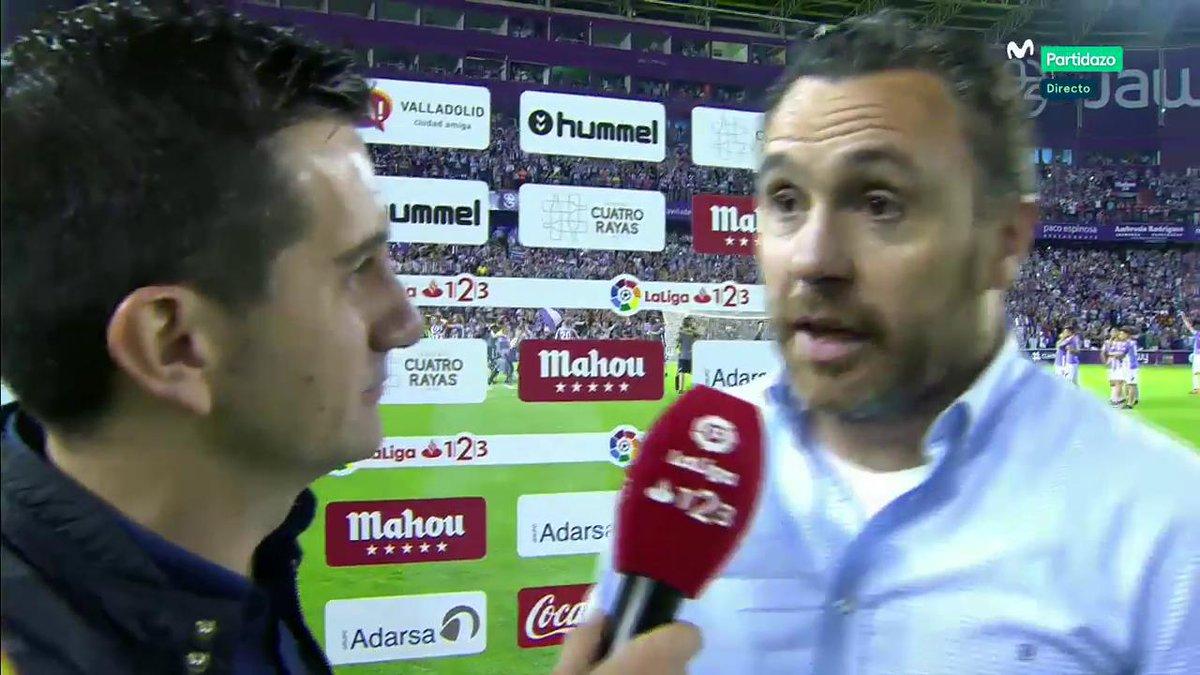 Sergio: Jaime Mata se merecía despedirse de la afición de esta forma. #AsaltarElCielo