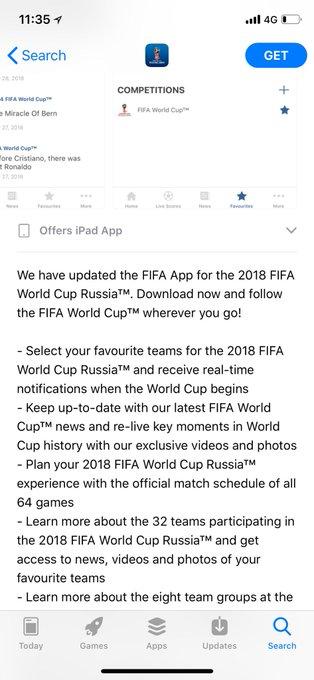 @MoonArashisuto عنده الخاصيه 2018 FIFA World Cup Russia™ by ;mt=8 Photo