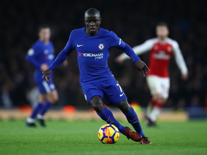 Chelsea: N'Golo Kante is a blue engine in a world of gadgets Foto