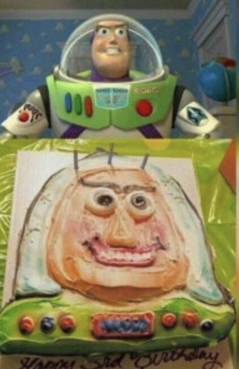 Swell Lee Unkrich On Twitter Buzz Lightyear Birthday Cake I Want To Funny Birthday Cards Online Inifodamsfinfo