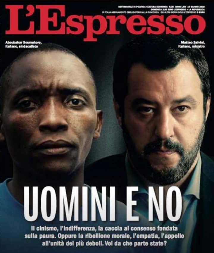 L'Espresso chiuso nei giorni scorsi già stampato e distribuito è in edicola a 1 euro. Questo per lo sciopero di solidarietà di @repubblicait indetto per tragica morte del poligrafico del centro stampa di Gorizia