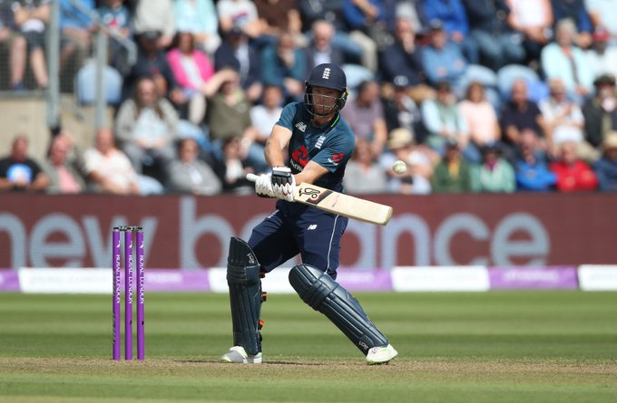 ✔️ 91 off 70 balls ✔️ A record total for 🏴󠁧󠁢󠁥󠁮󠁧󠁿 v 🇦🇺 ✔️ A 2-0 lead in the series So why is Jos Buttler still not satisfied? #ENGvAUS REACTION 👇 Photo