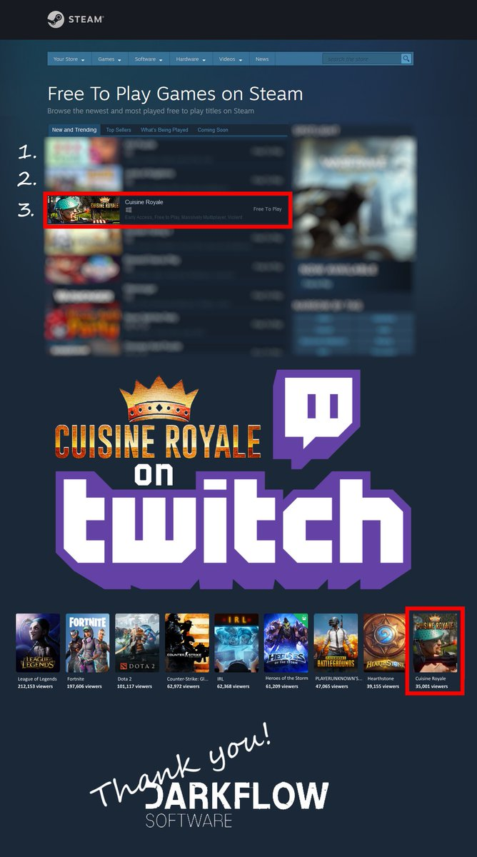 Cuisine Royale on Twitter: