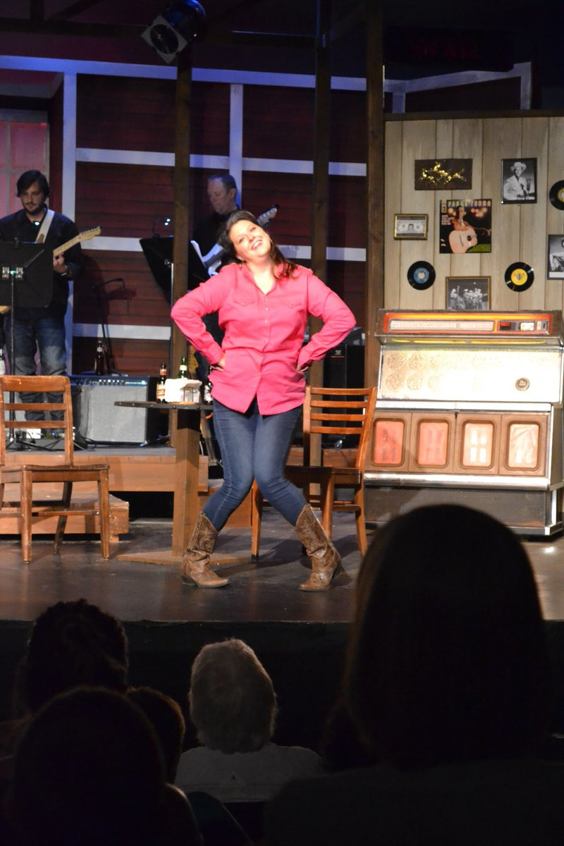 """test Twitter Media - What a treat! BCHS' own theater teacher and director serves as acting producer at Shawnee Theater in Bloomfield and in """"Always, Patsy Cline,"""" she plays a star struck fan. Amazing! Great show. https://t.co/6WXZMSnFZE"""