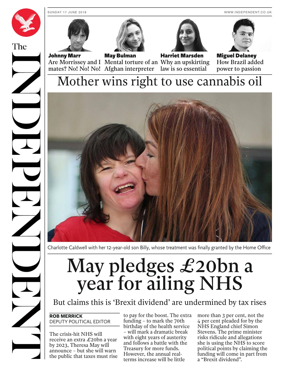 Tomorrow's @independent front page #tomorrowspaperstoday To subscribe to the daily edition: https://t.co/XF8VnDpHYF https://t.co/jCUyp3dITY
