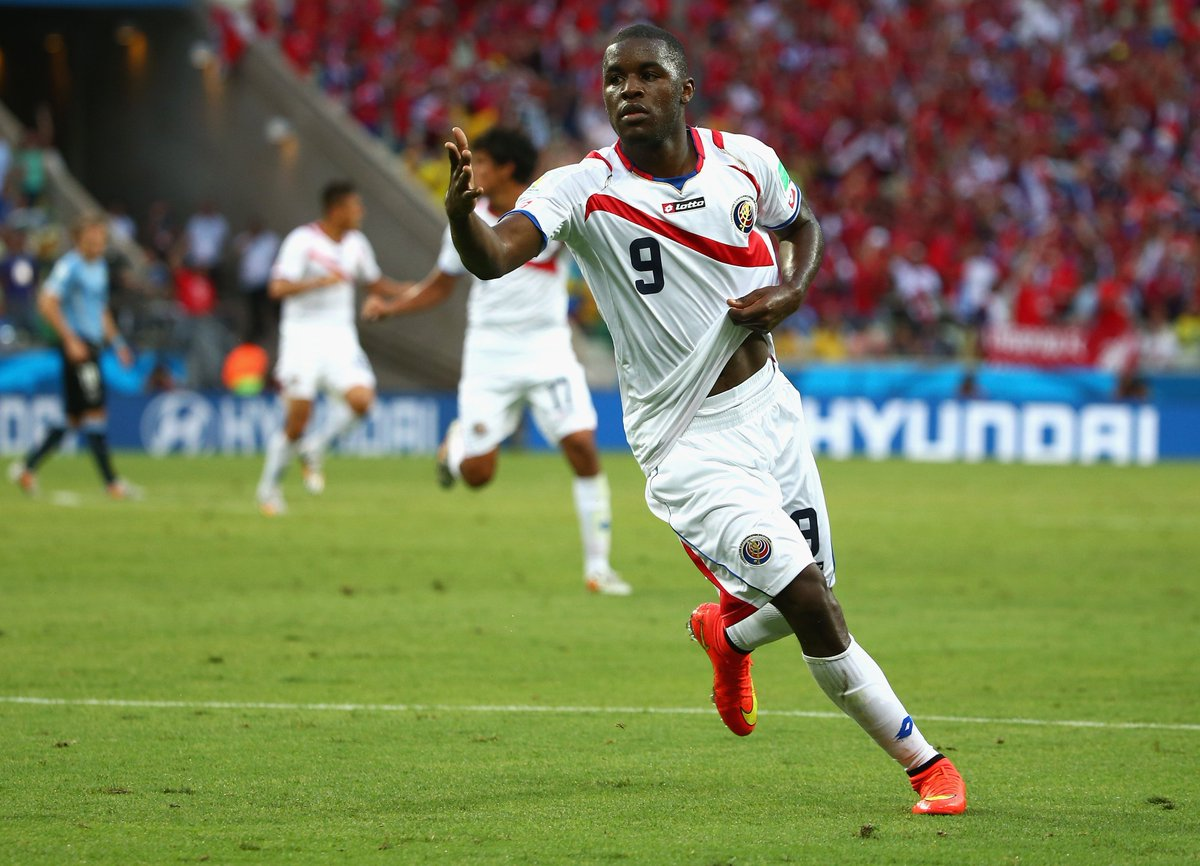 4️⃣ years ago, @joel_campbell12 scored #CRC's first goal of the 2014 @FIFAWorldCup   Reckon he can do it again this time, in  v ?   #SRB#WorldCup