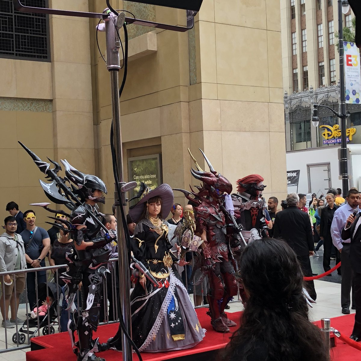 Final fantasy cosplay event for #eorzeansymphony at Dolby Theater. #FinalFantasyXIV