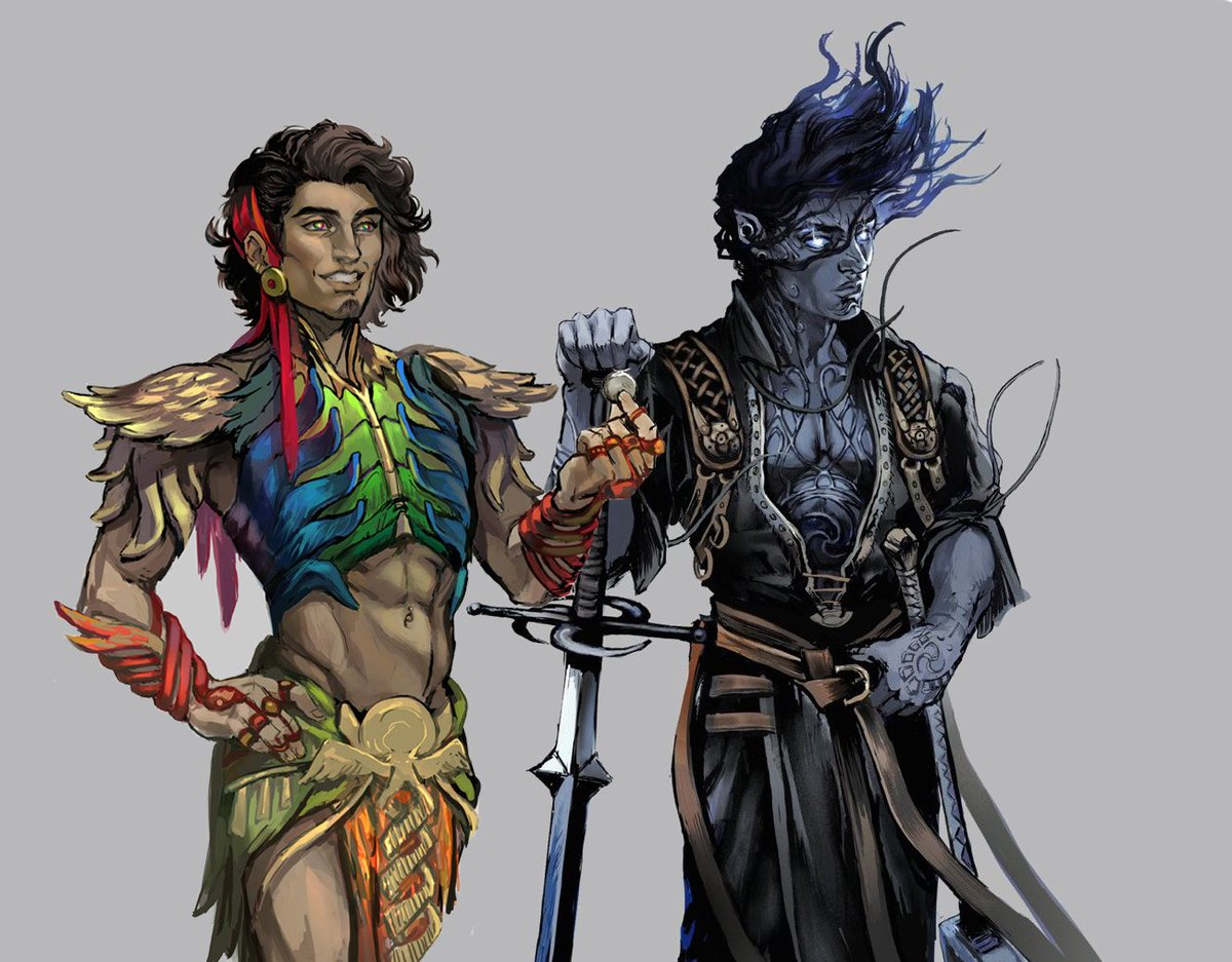 Tallsquall Demandbetternews On Twitter The Pirate And The Peacock The Most Unlikely Of Friends But Brothers Till The End Crewisforlife Grimjack21502 Encounterrp Little Red Dot Sydniac Dnd Https T Co Vtvwhuljt0