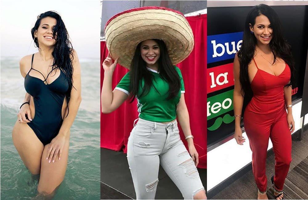 EN FOTOS: Conoce a la sexy periodista hondureña que va con #México en el #MundialRusia2018 ➡ https://t.co/FaVA3JX2kP https://t.co/FPVY55hU6l