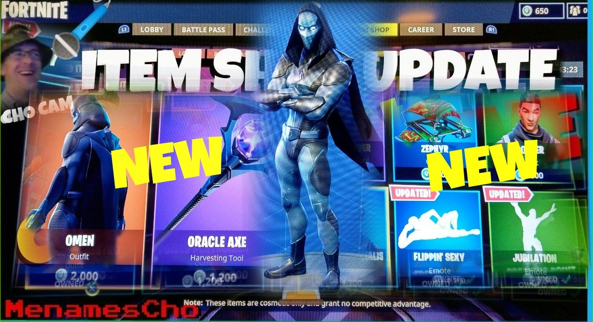 Fortnite On Twitter Your Victory Has Been Foretold The New Omen