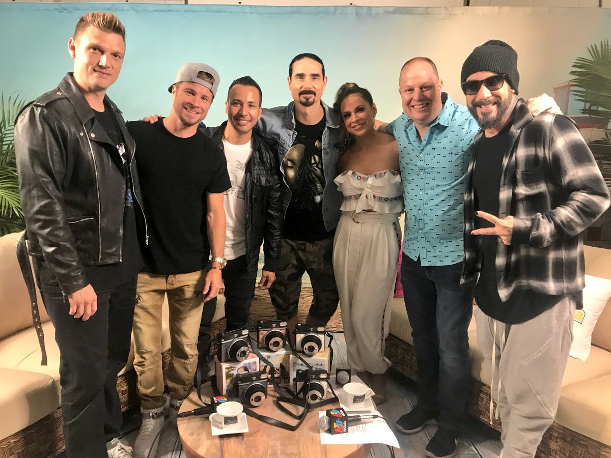 Partayyyyy with our faves @backstreetboys!!! 💯♥️ #KTUphoria #FoundInMiami #MyInstax