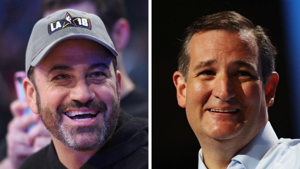 JUST IN: Cruz beats Kimmel 11-9 in charity basketball game https://t.co/HNMSdFA9wA https://t.co/vZHTQa74JO