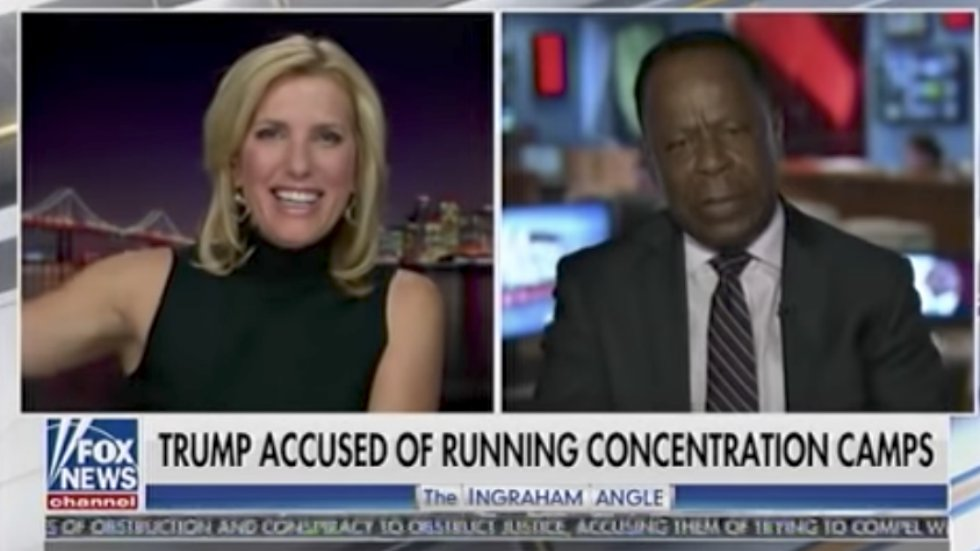 WATCH: Laura Ingraham confronts ex-RNC chair for comparing Trump separating families at border to Nazi tactics https://t.co/dn0S4x4R8H