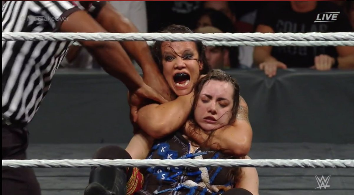 Image result for baszler cross takeover