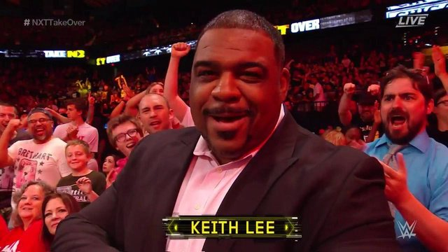 Let the rumors be laid to rest - independent standout @realKeithLee appeared in the crowd at NXT TakeOver: Chicago II, essentially confirming that hes signed a WWE contract. espn.com/espn/now?nowId…