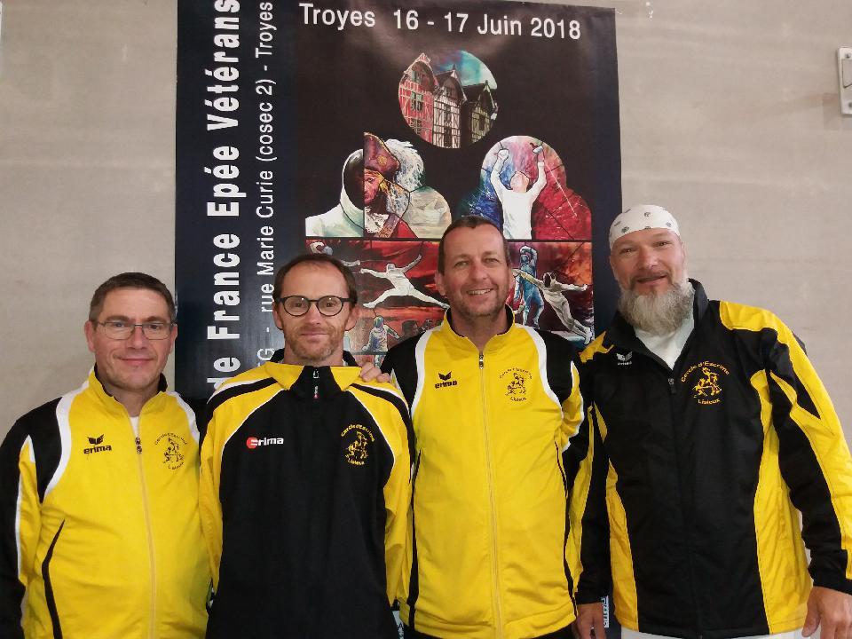 Championnat de France vétéran à Troyes