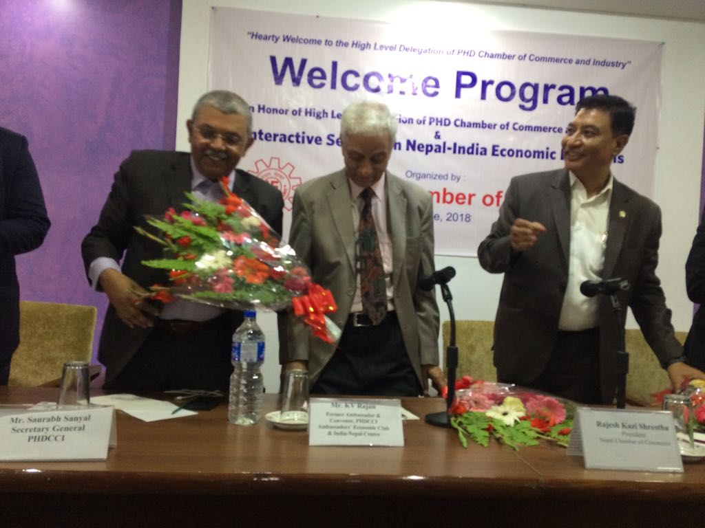 PHDCCI Delegation Visits Nepal to Activate India Nepal