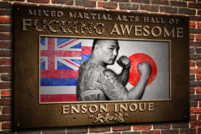 The MMA hall of f@#$%&g Awesome: @ensoninoue http://bit.ly/2HTDeUl via @benjaminduffy