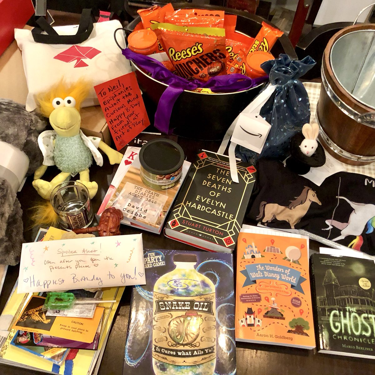 Neil Patrick Harris On Twitter I Received An Awesome Bunch Of Birthday Gifts From People
