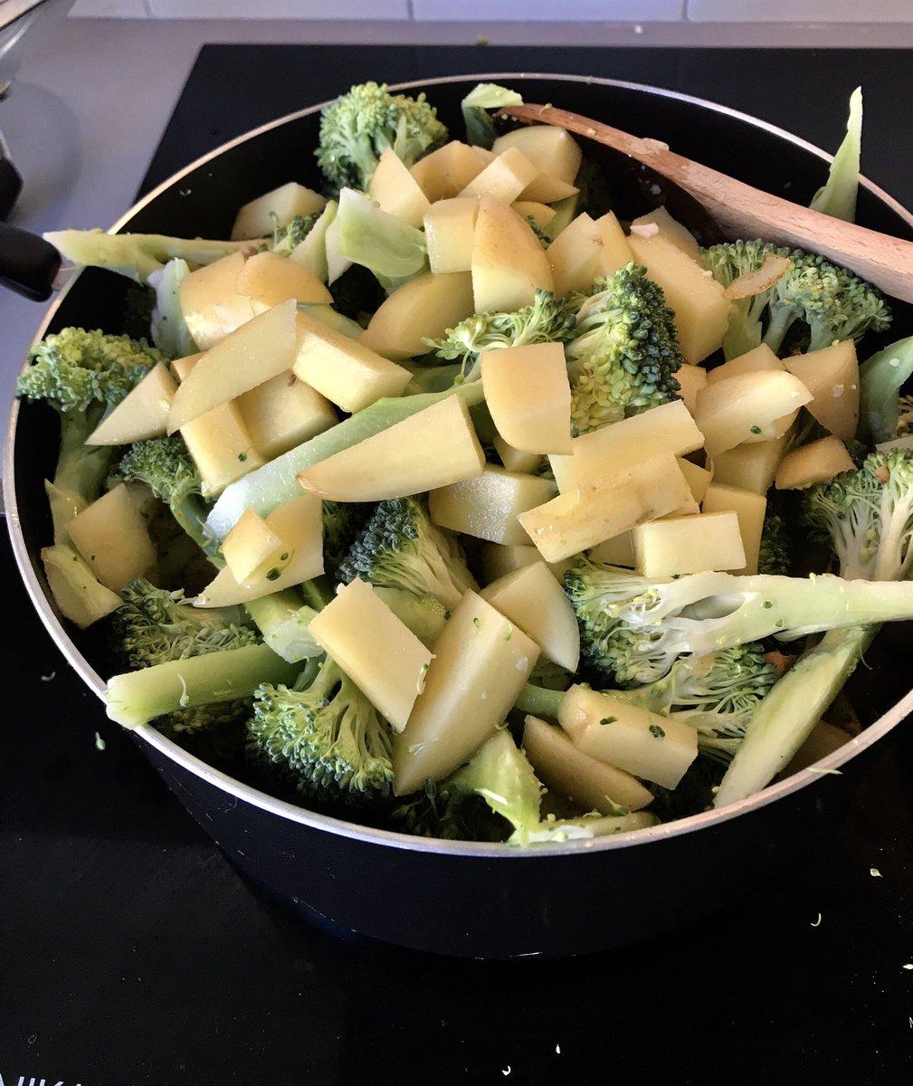 Someone somewhere misjudged how much vegetable-stuff...