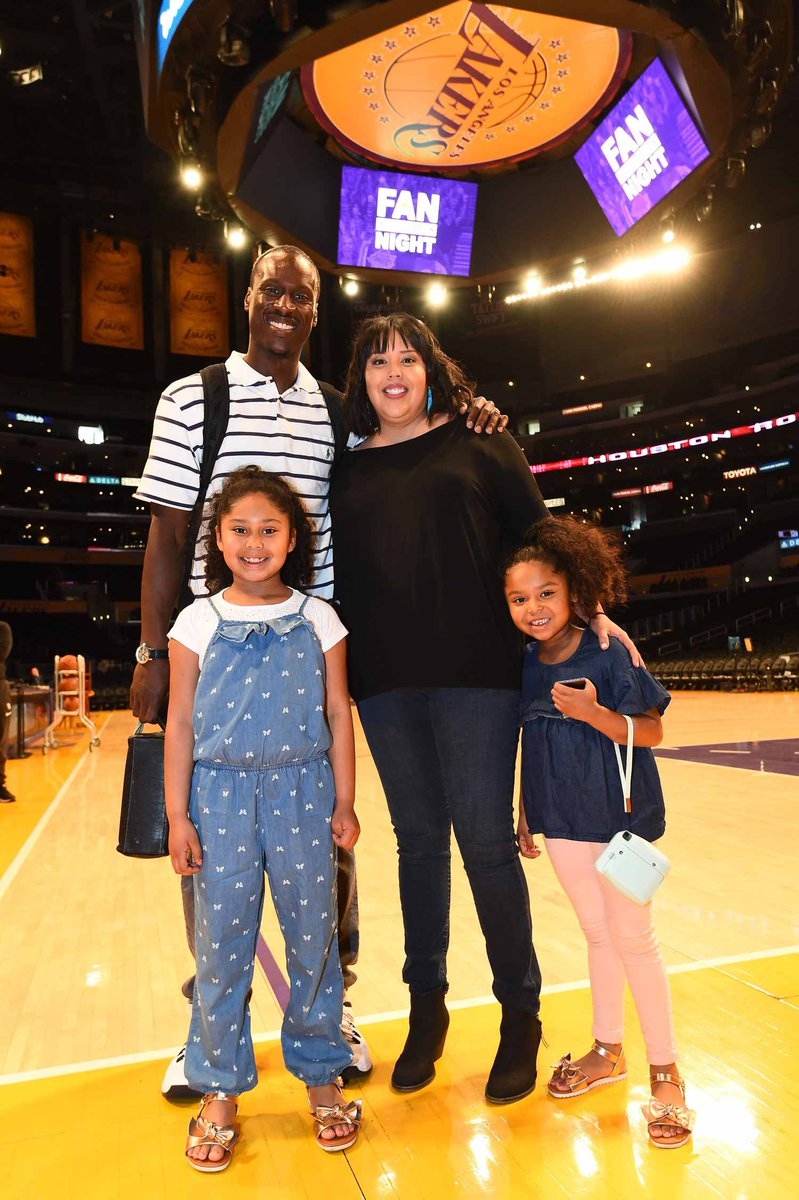 Happy Fathers Day from the #NBAGLeague to fathers around the world like #GLeagueAlum Andre Ingram!