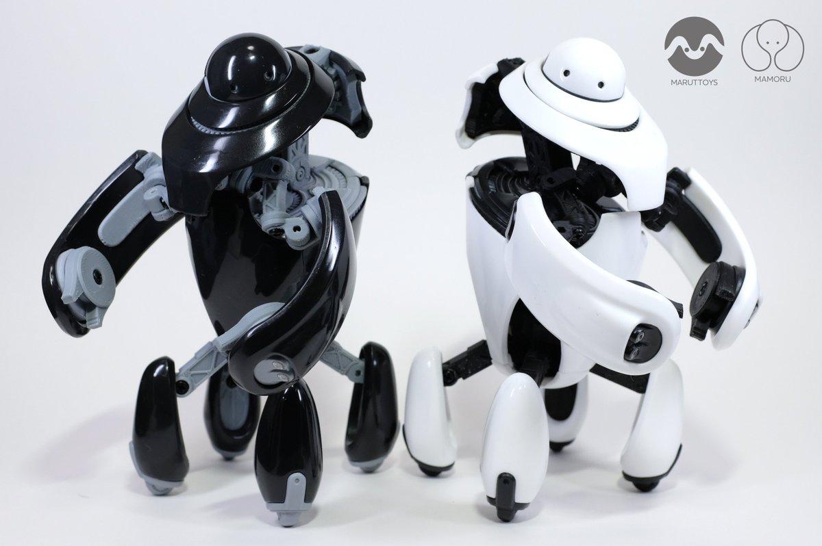 オリジナル警備ロボット「MAMORU」の完成見本が出来ました。 街中にいても威圧感がなくて親しみやすく、でもいざという時に頼りになる力強さを兼ね備えたデザインにしてみました。今年の夏のワンフェスでキットを販売します。