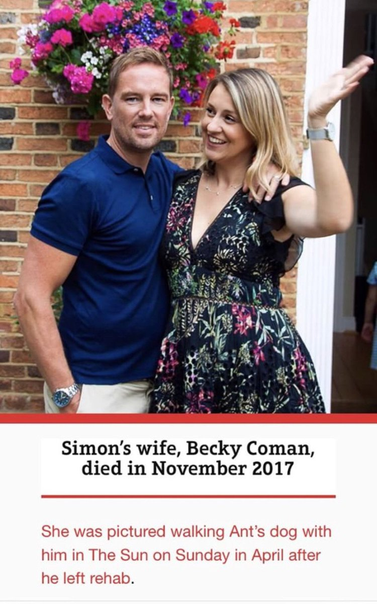 For goodness sake @TheSun If you're going to write stuff about me at least get it right. Becky Coman is my sister and is very much alive and kicking. The clue is in the surname! My late wife was called Gemma.