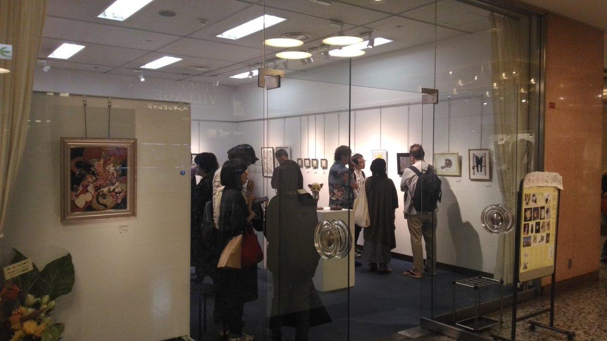 かざあなさんの作品を見に銀座ねこ集会展Ⅱ行ってきました〜!  中は撮影禁止なので見せられませんが、素敵な作品が沢山でした!  かざあなさんのポストカード的なのもゲット出来てよかったです〜( ◜︎◡︎◝︎ )