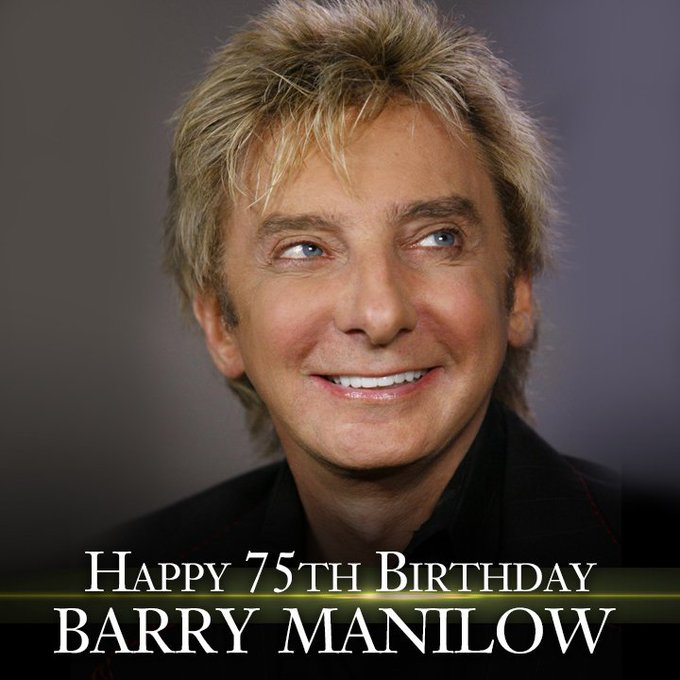 Happy 75th Birthday to Brooklyn\s own Barry Manilow!