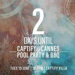 2 days to go! #CaptifyatCannes #CannesLions #canneslions2018 #Cannes