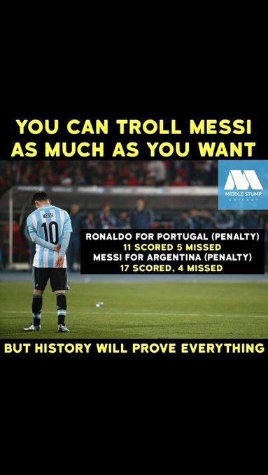 Messi ur unbeaten .still we love u .ur the best ur the king 😘😘😙😍💙💙 Photo