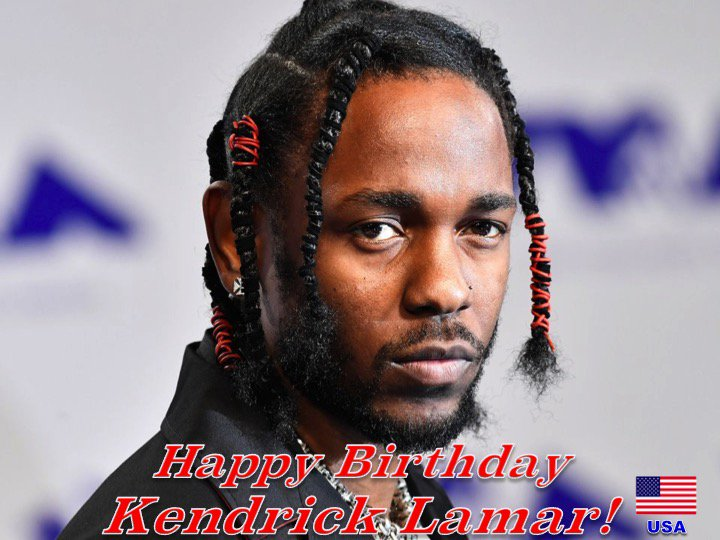 Happy 31st Birthday to the very talented #KendrickLamar! @kendricklamar 👏🇺🇸🎶🎤🎂🎉🎁🎈😍🌟💫🎇
