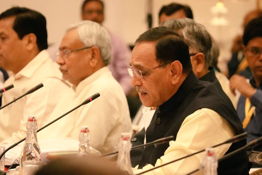 Gujarat attains double digit growth rate in agriculture during last 15 years, confident of doubling farmers' income by 2022: Rupani at Niti Aayog meeting