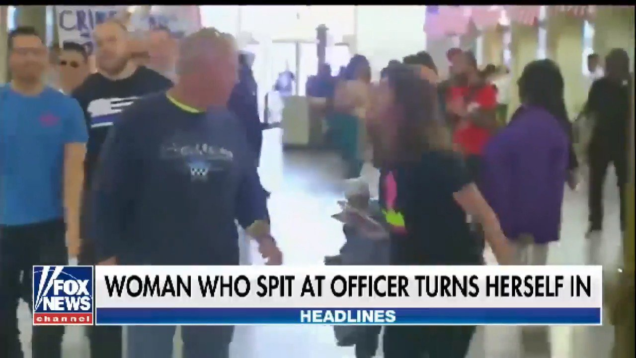 Woman turns herself in after spitting on an off-duty officer https://t.co/wltgAE3sOZ