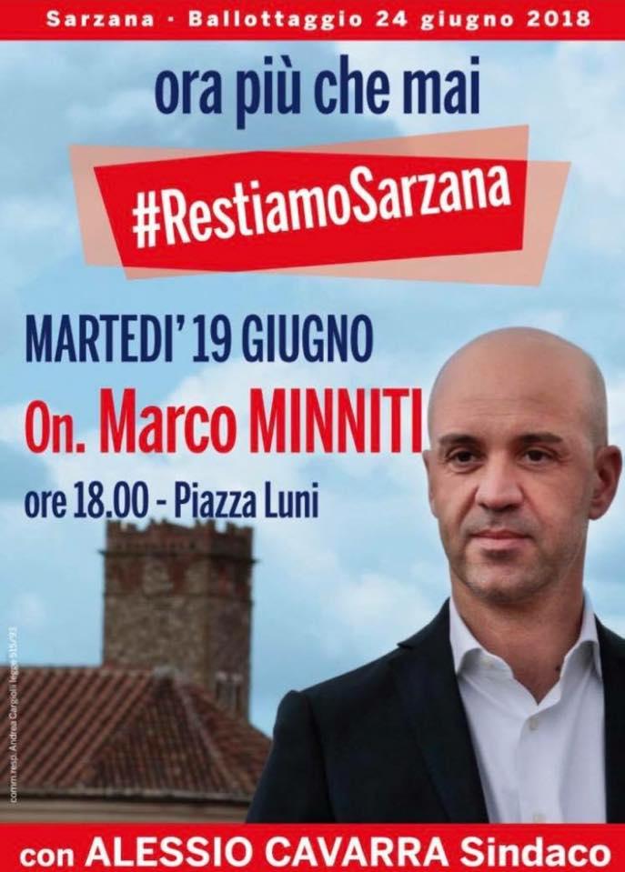 A #sarzana in vista del ballottaggio il sindaco uscente pd invita Minniti per convincere gli indecisi a non lasciare in mano la città alla destra fascista. Poi danno la colpa agli elettori  - Ukustom