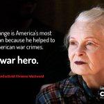 Julian Assange is America's most wanted man because he helped to expose American war crimes. He's a war hero—@FollowWestwood  https://t.co/9HCthxPNMr #FreeAssange #Artists4Assange