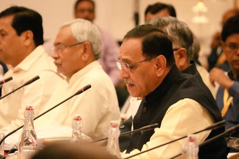 ઈ-વે બીલમાં ભારતભરમાં ગુજરાત અવ્વલ:  નીતિ આયોગની બેઠકમાં મુખ્યમંત્રી રૂપાણી