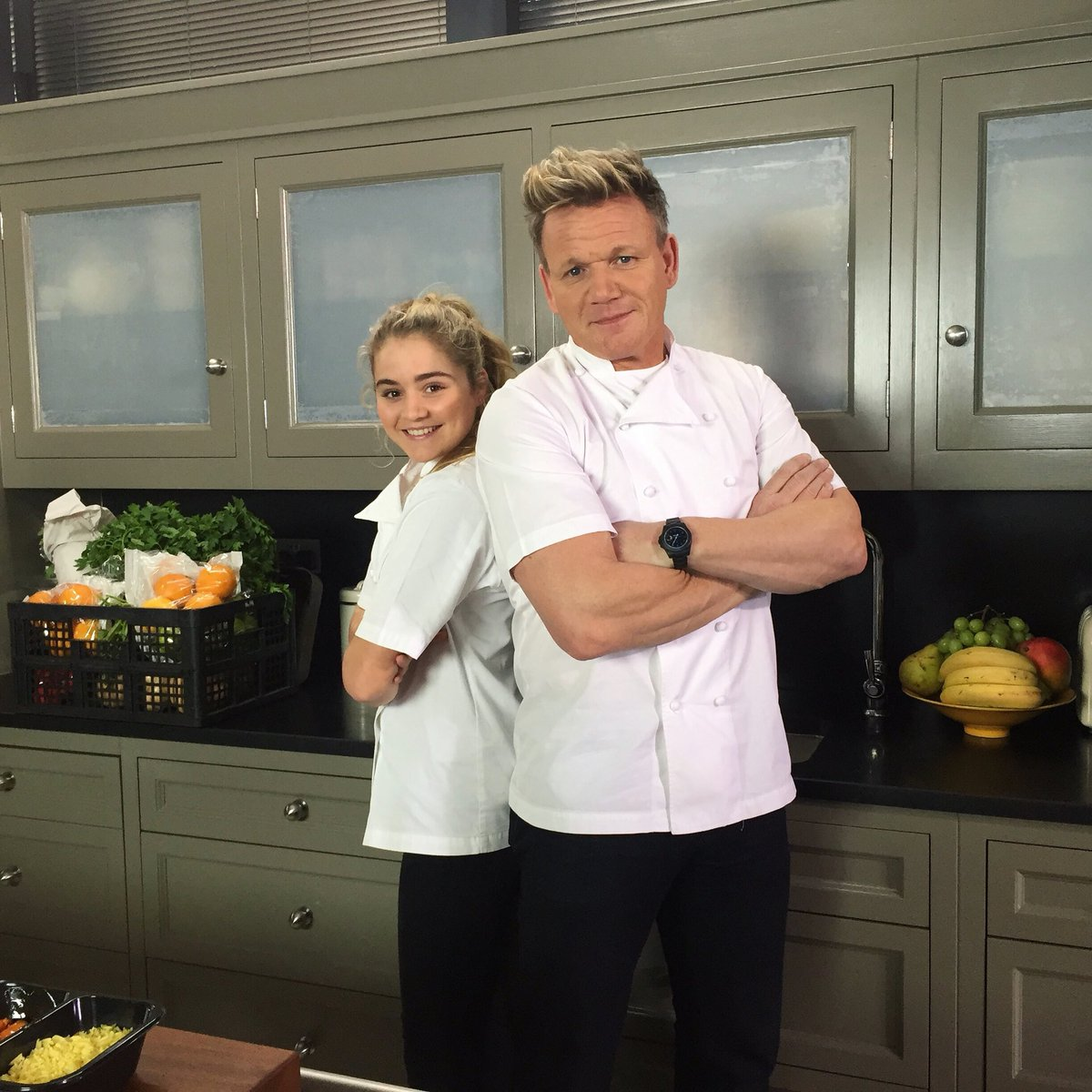 @GordonRamsay re: Tills...Its #fathersday so that means you better move it and start cooking my favourite dish for me ! Wishing all the dads out there a great Fathers Day Gx > What dish is that, Gordon? #MasterChef