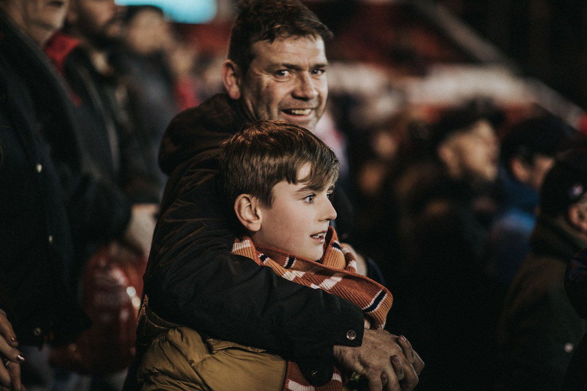 Happy Fathers Day from everyone at #NFFC. Looking forward to seeing you all back at The City Ground soon. #ThatLovingFeeling
