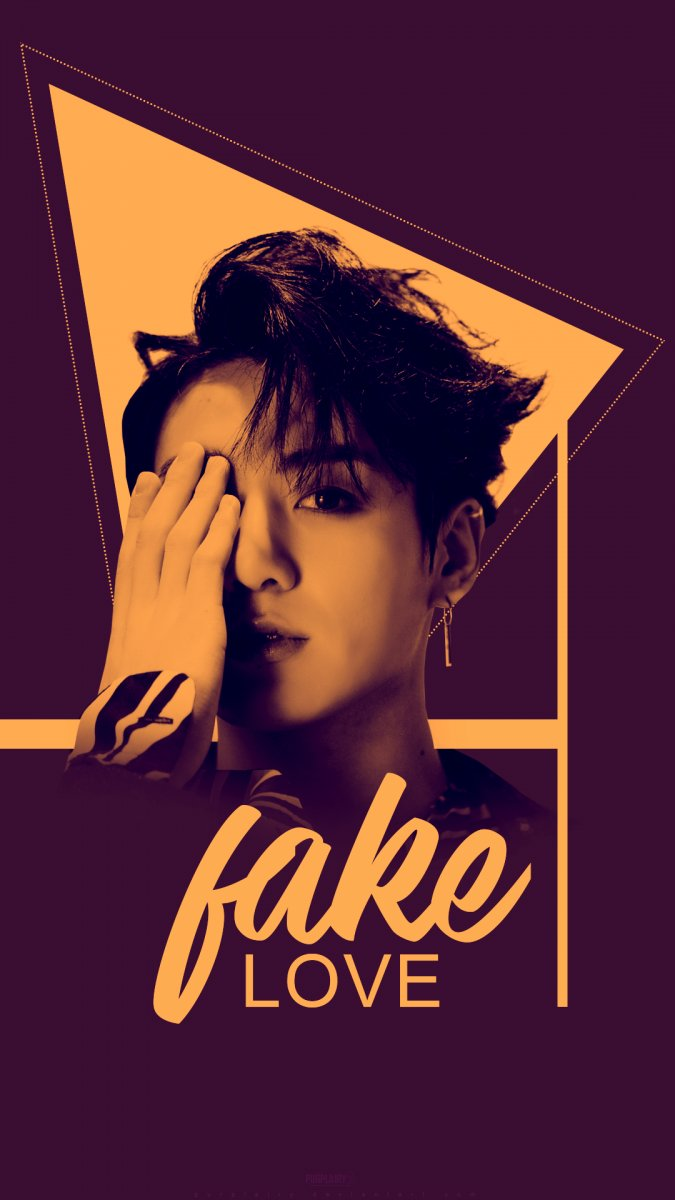 Kpop Wallpaper On Twitter Jungkook Fake Love Wallpaper