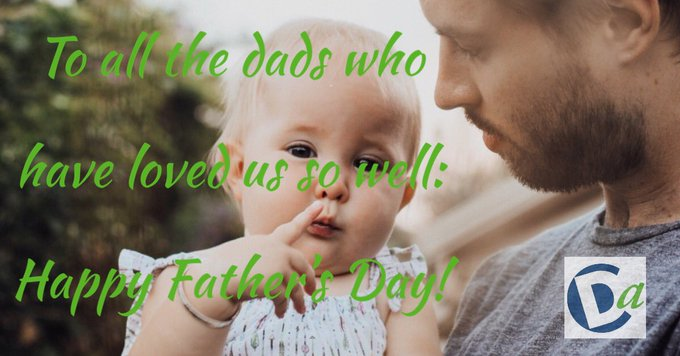 We are thankful for all the dads, stepdads, grandads, great grandads, and surrogate dads who touched our lives in such positive ways. Happy Father's Day! . . . #fathersday #sundaymorning Photo