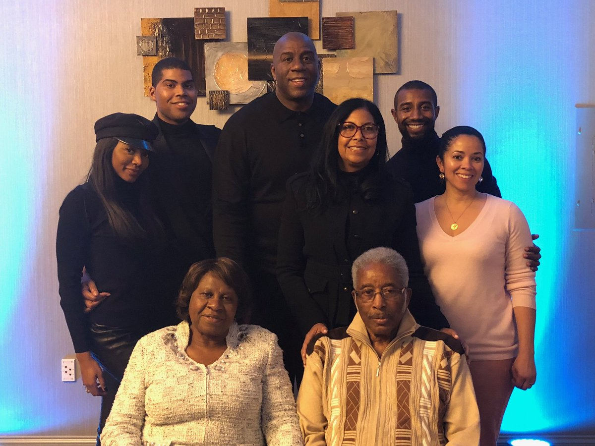 Thank you to my children Andre, EJ and Elisa for being my greatest blessings and thank you to my father Earvin Sr. for making me the man that I am today.