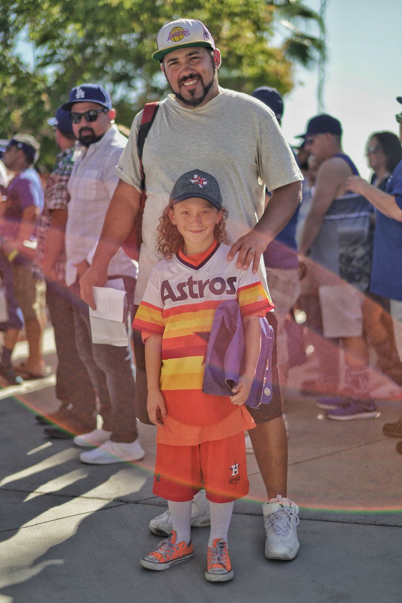 Universal truth: Cool dads take their kids to cool events. #FathersDay