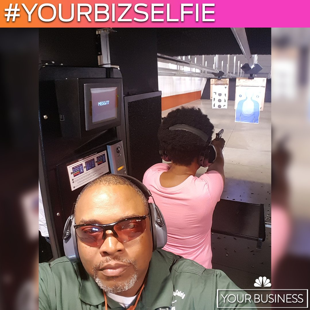 This week's #YourBizSelfie is from Joseph Baker. He's the owner of Safe Zone Defenses in Atlanta, Georgia. Joseph is a Marine Corps Veteran who started his business to provide training and safety measures to help promote responsible firearm ownership.  Send us your #selfie today!