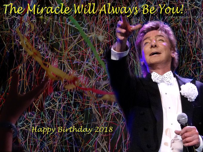 Happy Birthday, Barry Manilow!  You\re the best!