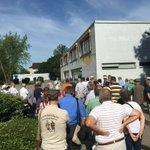 Image for the Tweet beginning: Grenzgang in Alsbach-Hähnlein im Rahmen