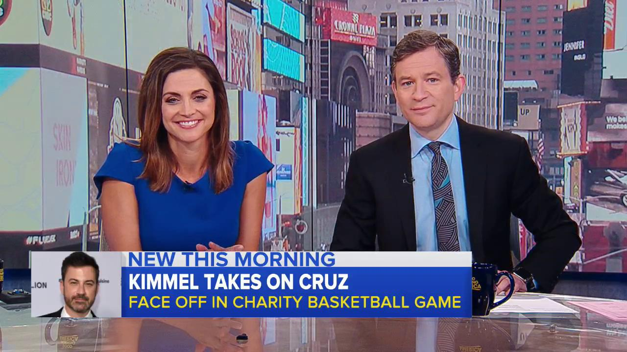 Kimmel takes on Cruz; face off in charity basketball game: https://t.co/VbTnUlQbUy @marcusmoore has the story. https://t.co/7UnFZPxBjf