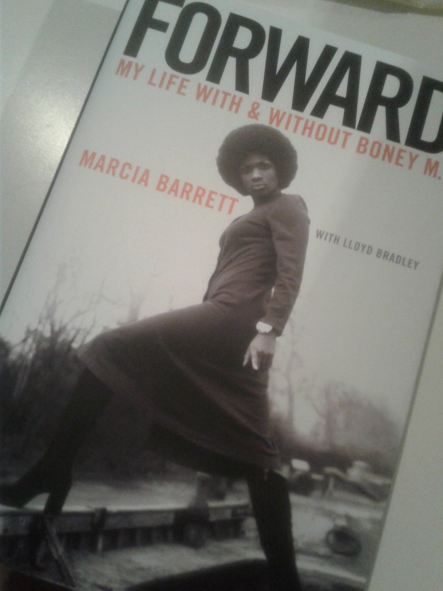 "Eddy Grant on Twitter: ""#FathersDay Gift @Marcia_BoneyM's NEW Book ""Forward""  Ringbang For Life - E.G.… """