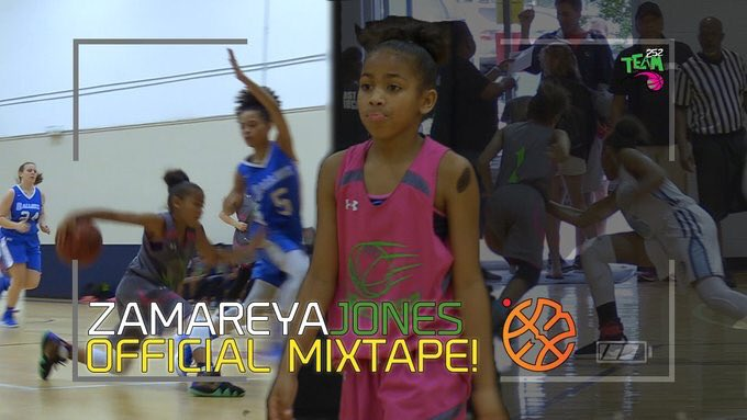 🚨 NEW! 🚨 Zamareya Jones Is The COLDEST 6th Grader In The Country?! Exciting Young PG Out Of North Carolina DOMINATES Playing Up! 252's Finest Official Mixtape! #HoopState Watch It Here ➡️ youtu.be/LdtAW7zZurk