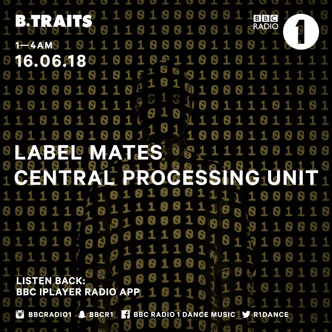 Electro, IDM and beyond for the 21st Century ...check out @CPURECORDS Label Mates for @BTraits https://t.co/1Dey5hjxJ7 https://t.co/mxu5KTBZV9